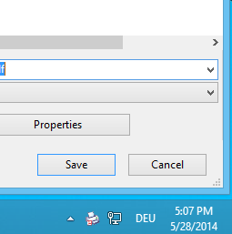 PdfPrinter Save Dialog