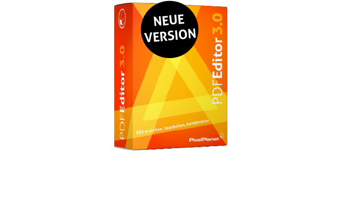 Neue Version PdfEditor 3.0