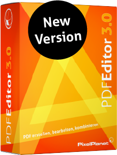 New PdfEditor version 3.0