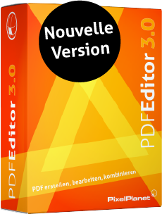 Nouvelle version : PdfEditor 3.0