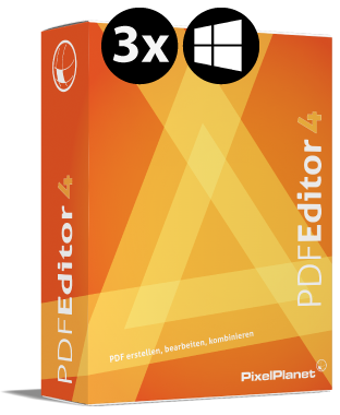 PdfEditor 3.0 TRIPLE PACK