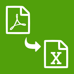PDF en EXCEL