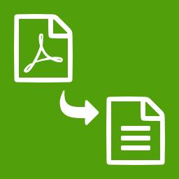 PDF en texte