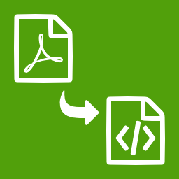 PDF to XML