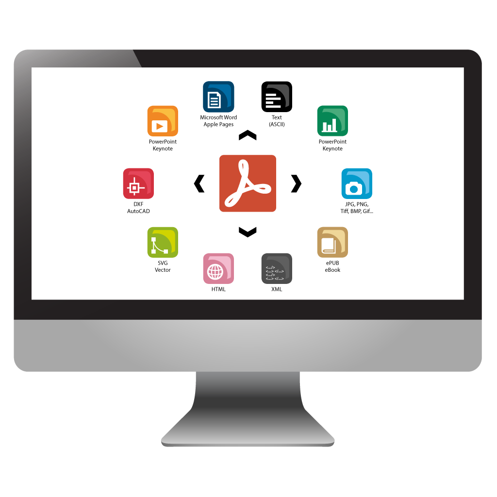 PdfGrabber converts PDF files to multiple formats