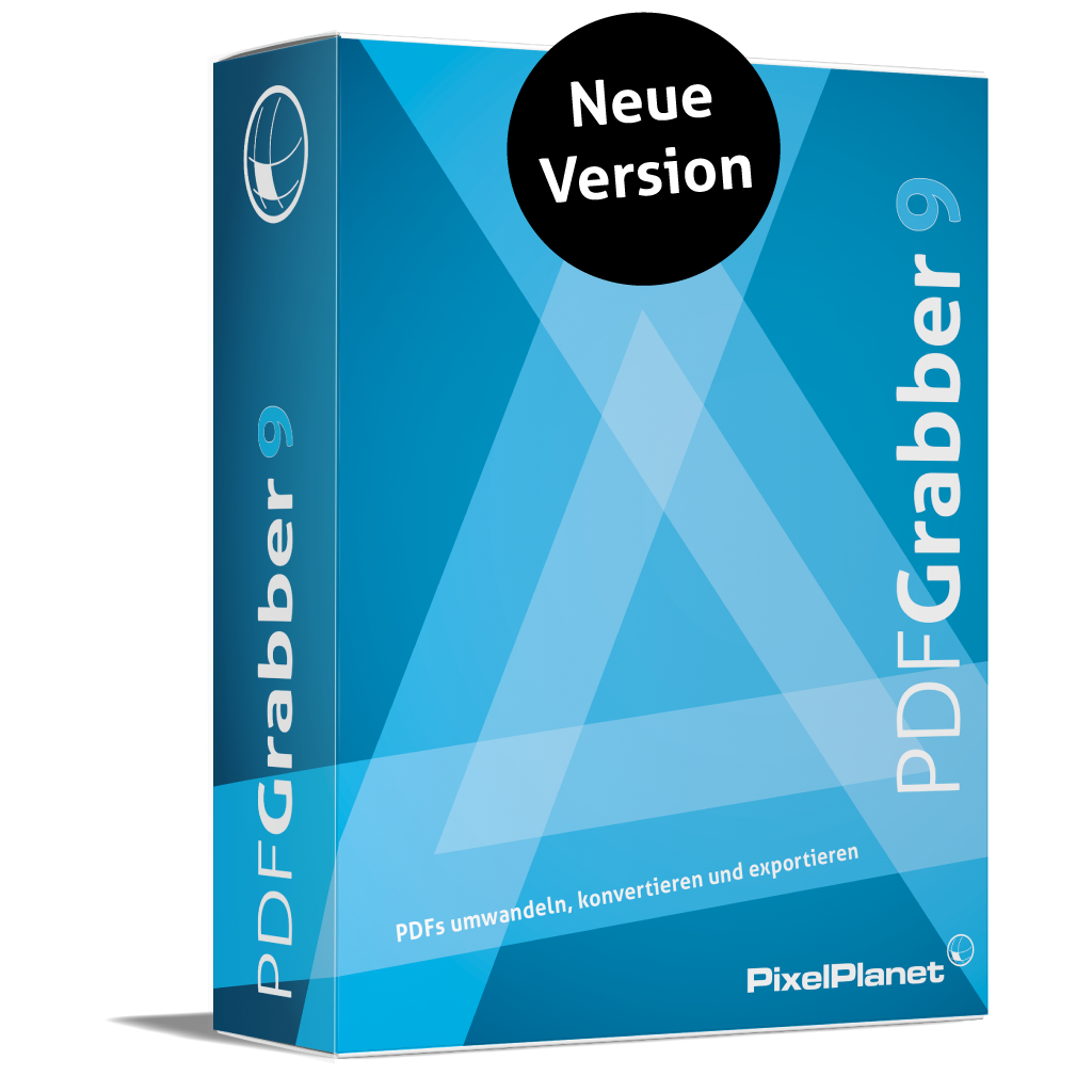 PdfGrabber 9.0 - Neue Version