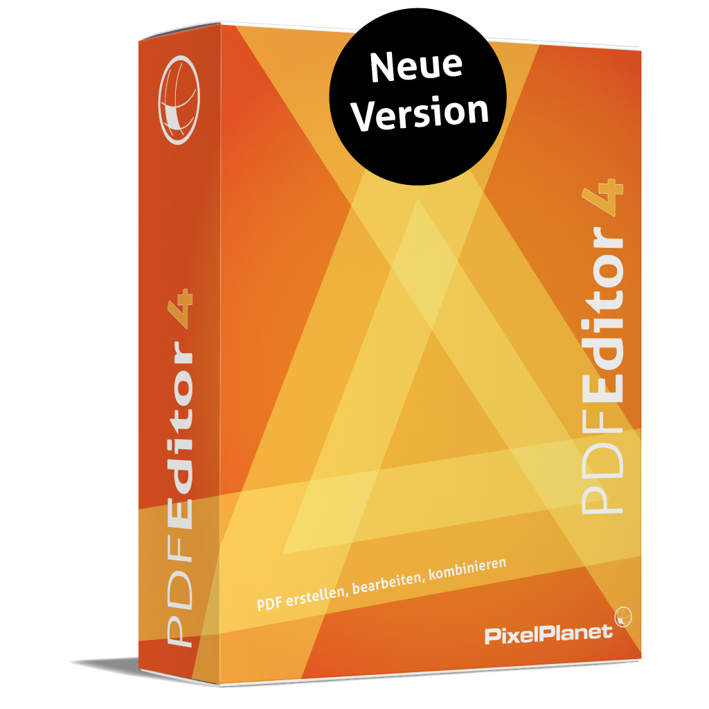 PdfEditor 4.0 - Neue Version