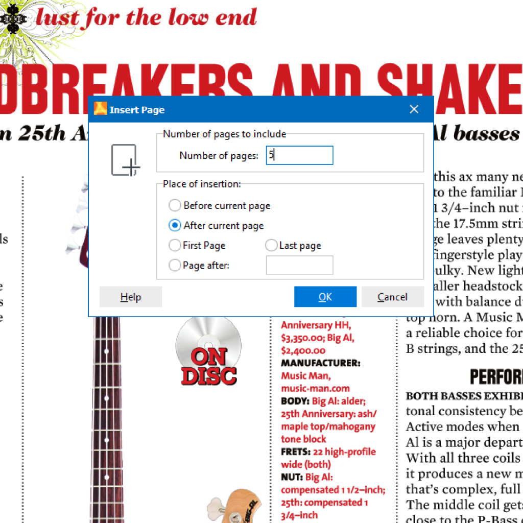 Sreenshot (Zoom): Add pages to PDF with PdfEditor