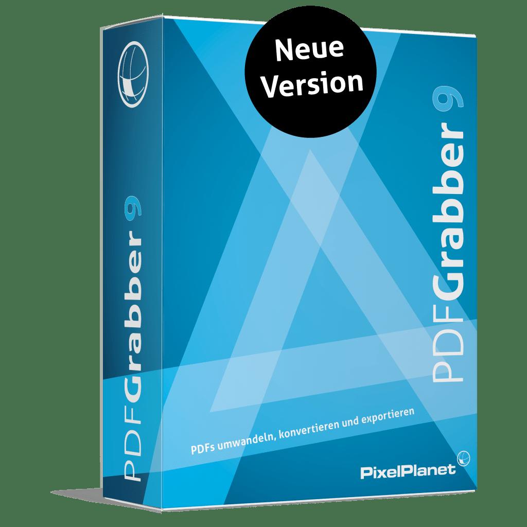 PdfGrabber Boxshot - Neue Version